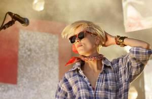 PHOTOS : Quand Agyness Deyn se la joue rockstar...