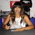 Kelly Rowland fait la promotion de son nouvel album intitulé Talk A Good Game, à New York, le 18 Juin 2013.