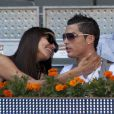 Cristiano Ronaldo et Irina Shayk à Madrid le 10 mai 2013.