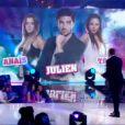 Le triangle amoureux, Anaïs, Julien et Tara dans l'hebdo de Secret Story 7 sur TF1 le vendredi 21 juin 2013