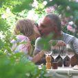 Déjeuner romantique pour Christian Audigier et Nathalie Sorensen à Avignon le 17 juin 2013