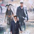 La star Johnny Depp lors de l'avant-première du film Lone Ranger à Los Angeles le 22 juin 2013