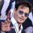 Johnny Depp lors de l'avant-première du film Lone Ranger à Los Angeles le 22 juin 2013