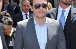 Fashion Week : James Franco et Margherita Missoni enceinte rayonnent à Milan