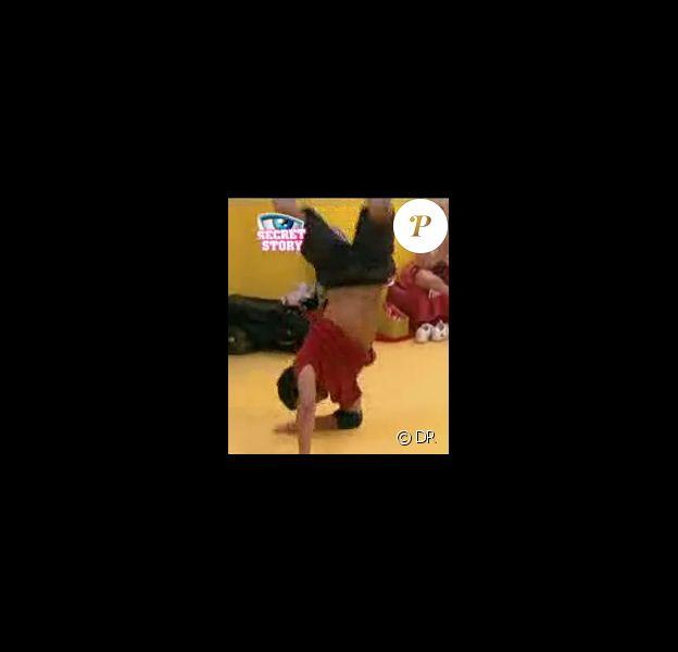 Cyril, champion de breakdance