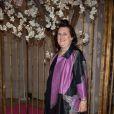 """Suzy Menkes - Soirée Schiaparelli à l'école nationale supérieure des Arts Décoratifs le 1er juillet 2013. Lors d'un cocktail intitulé """"Un récit d'amour pour Elsa"""", Christian Lacroix a honoré Elsa Schiaparelli et présenté une collection unique de dix-huit modèles rendant hommage à son style."""