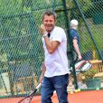 French TV presenter Jerome Anthony (Jerome Finkelstein) participates in a celebrity charity tennis tournament to benefit French association 'Enfant Star et Match', in Antibes, southern France on July 10, 2013. Photo by Patrice Masante/ABACAPRESS.COM10/07/2013 - Antibes