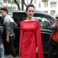 L'actrice chinoise Zhang Ziyi arrive à l'hôtel Salomon de Rotschild pour assister au défilé Valentino. Paris, le 3 juillet 2013.
