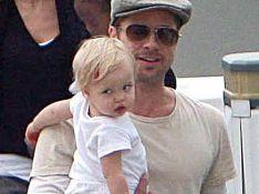 PHOTOS :  Quel père inconscient, ce Brad Pitt !