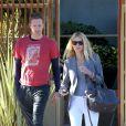 """""""Gwyneth Paltrow et Chris Martin à Los Angeles le 25 octobre 2012"""""""