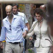 Sophia Loren : A 78 ans, elle fait son retour en beauté pour son fils