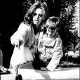 Sophia Loren et son fils Edoardo en 1979 en Floride