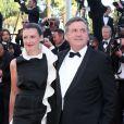 """""""Daniel Auteuil et sa femme Aude Ambroggi lors du Festival de Cannes 2013"""""""