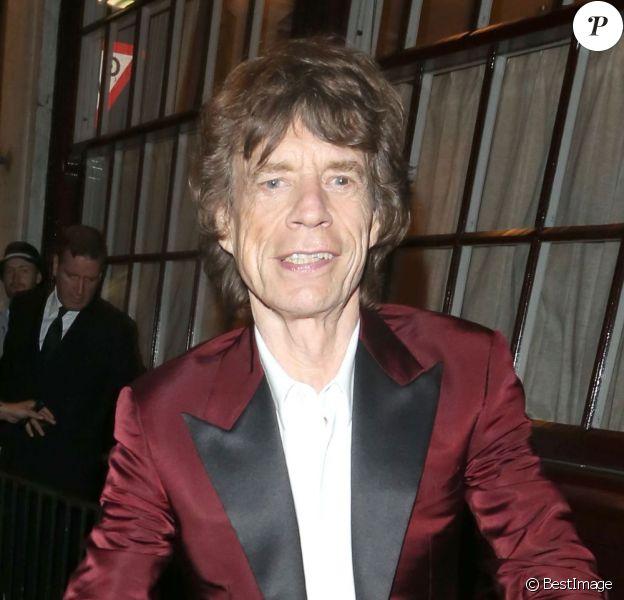 Mick Jagger - Après avoir donné le 13 juillet 2013 un concert avec son groupe The Rolling Stones à Hyde Park à Londres, Mick Jagger a fêté son 70e anniversaire au club privé Loulou.