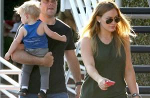 Hilary Duff : La chanteuse endeuillée retrouve le sourire avec Luca et son mari