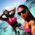Amélie Neten poste une photo souvenir de ses vacances en Jamaïque
