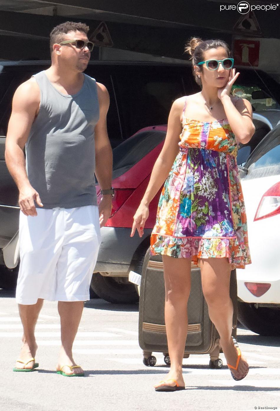 Ronaldo a débarqué à Ibiza en compagnie de sa compagne Paula Morais, le 16 juillet 2013