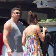 Ronaldo a débarqué à Ibiza en compagnie de sa compagne Paula Morais et ses enfants, le 16 juillet 2013