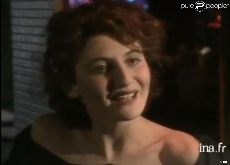 Valérie Lang en 1988