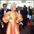 Bernadette Lafont au Festival de Cannes en 1987
