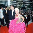 Bernadette Lafont au Festival de Cannes 1988