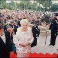 Bernadette Lafont au Festival de Cannes 1990