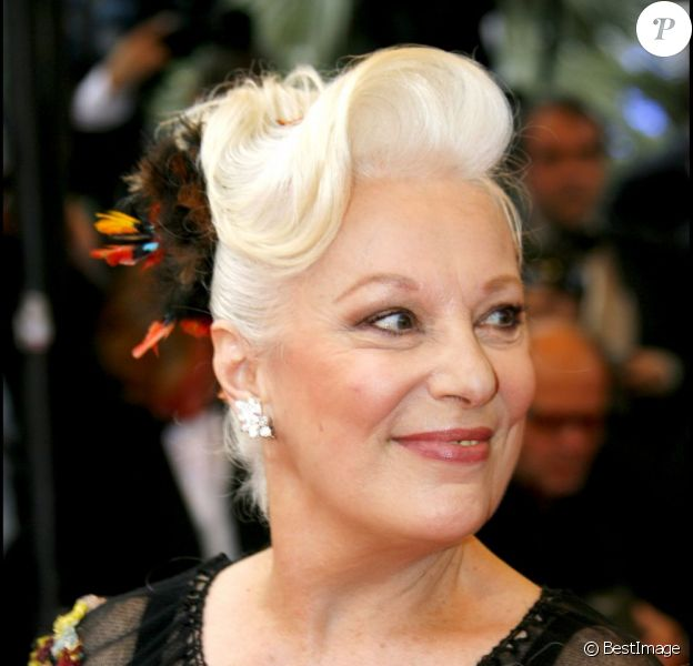 Bernadette Lafont lors du Festival de Cannes 2007