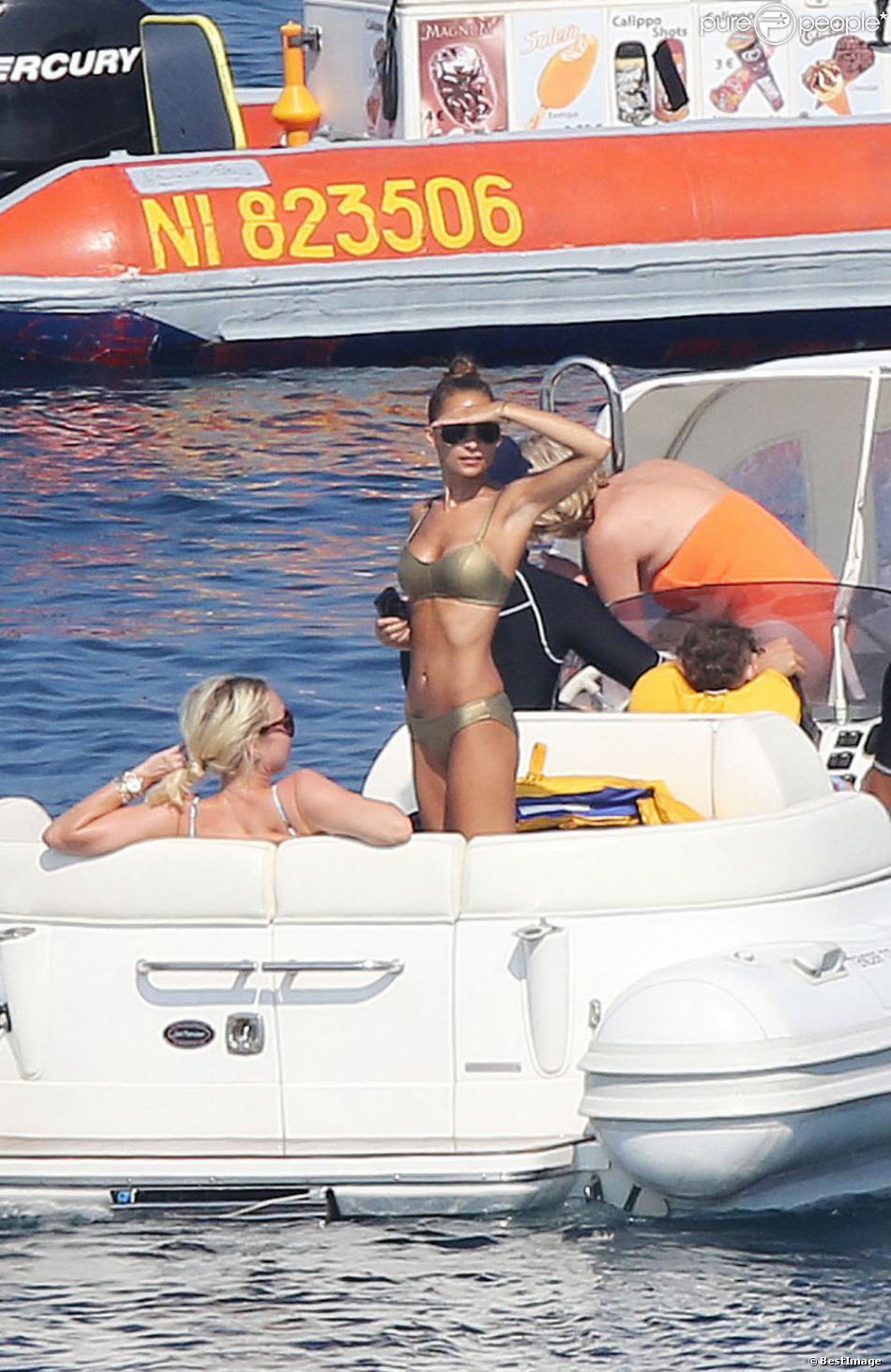 La très jolie Nicole Richie profitant de vacances en famille à St-Tropez, le 26 juillet 2013.