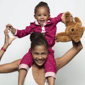 Ayo et sa fille Billie-Eve : Princesses d'un jour pour jouer les tops !
