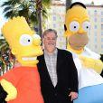 Matt Groening à Los Angeles, le 14 février.