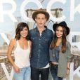Vanessa Hudgens, Jessica Szohr et Austin Butler à la soirée American Eagle's Rock Your Walk à New York, le 30 juillet 2013.