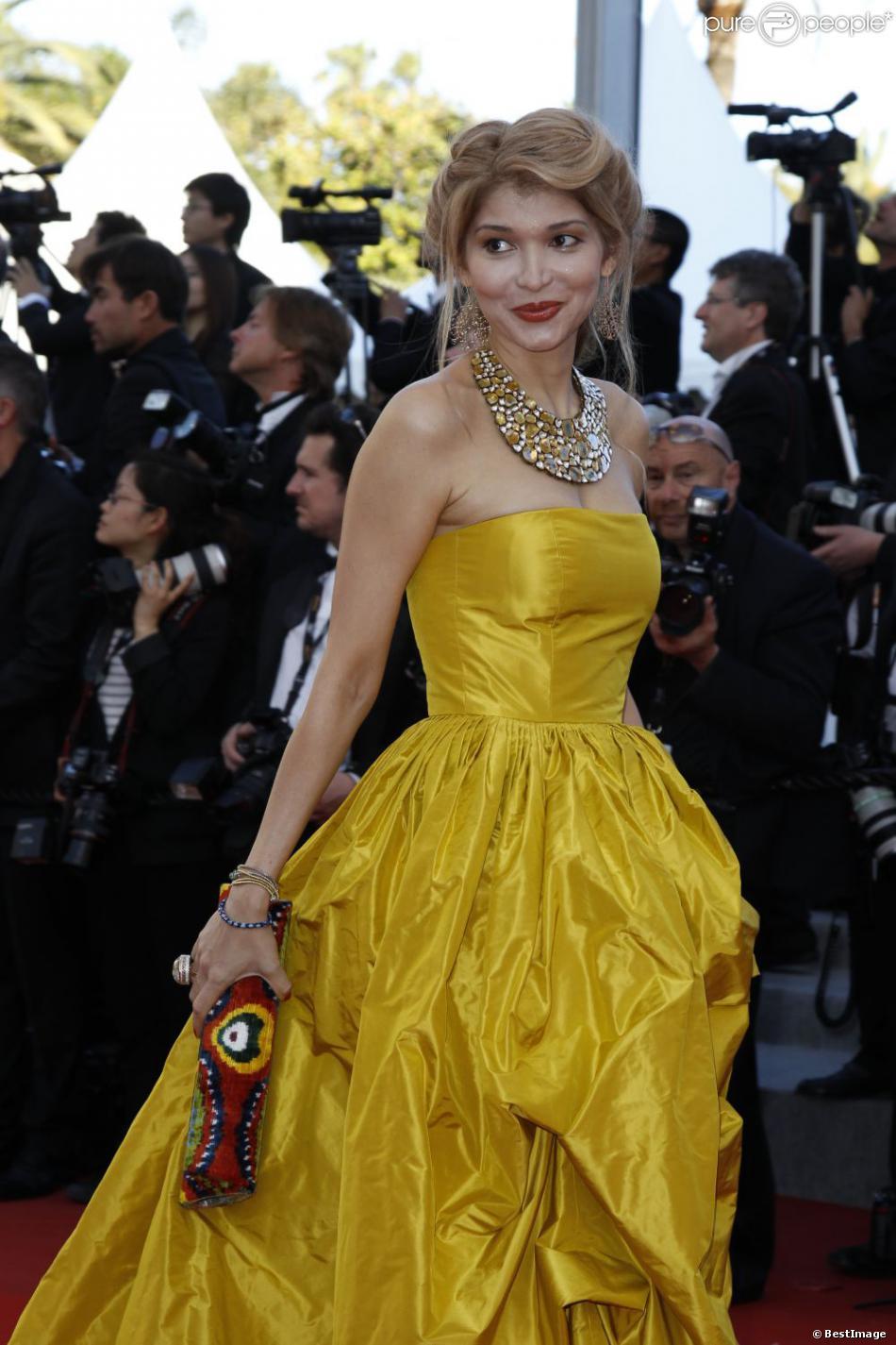 Gulnara KArimova à Cannes le 22 mai 2012.