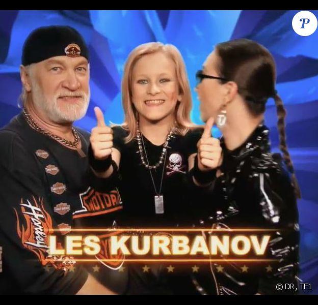 Les Kurbanov dans The Best : Le meilleur artiste sur TF1, le vendredi 2 août 2013.