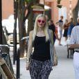 Gwen Stefani, de sortie à Londres, avec mari et enfants. Le 1eraoût 2013.
