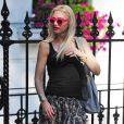 Gwen Stefani à Londres, le 1eraoût 2013.