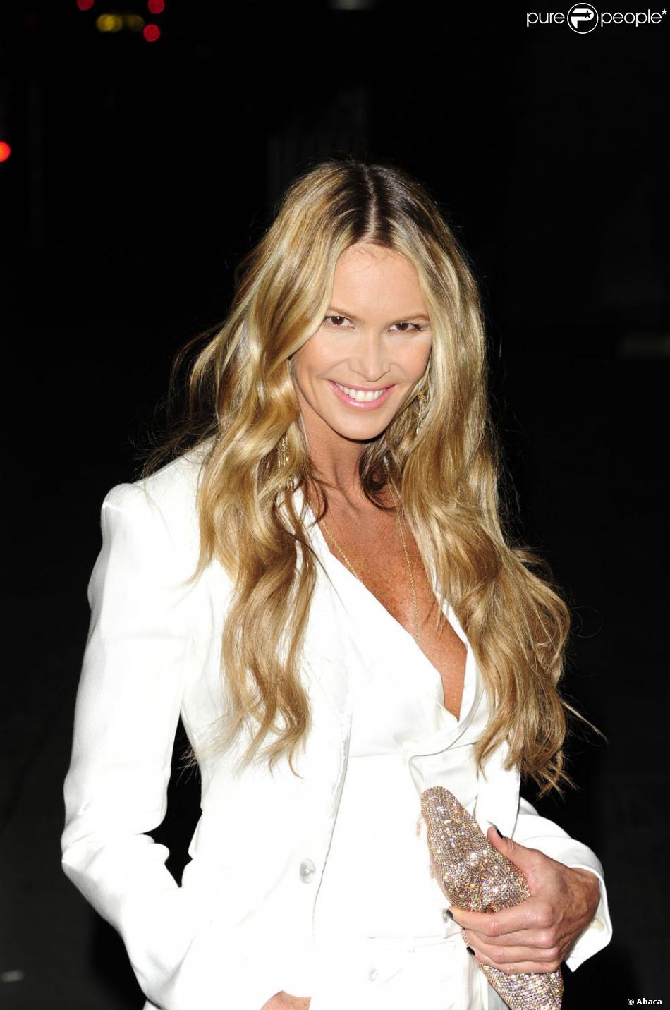 Elle Macpherson aux Rodial Beautiful Awards 2012 à Londres, le 6 mars 2012.