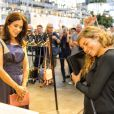 La princesse Mary de Danemark inaugurait le 8 août 2013 au Bella Center la fashion week d'été de Copenhague.