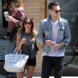 Ashley Tisdale et Christopher French sont allés déjeuner au restaurant Fresh Corn Grill, à West Hollywood, le 18 avril 2013.