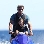 Sylvester Stallone : Papa attentionné et musclé avec ses trois charmantes filles
