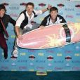 Emblem3 aux Teen Choice Awards 2013 au Gibson Amphitheatre de Los Angeles, le 11 août 2013.