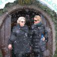 Beatrix des Pays-Bas et sa belle-fille la princesse Mabel dévastées à l'hôpital d'Innsbruck, en Autriche, le 23 février 2012, six jours après l'accident du prince Friso et à la veille de la révélation du diagnostic d'un coma qui s'avérera fatal, 17 mois plus tard.
