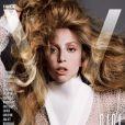 Lady Gaga photographiée par Inez et Vinoodh pour V Magazine. Numéro d'automne 2013.