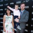 Joe Swanberg en famille avec sa femme Kris Williams à la première de Drinking Buddies aux ArcLight Cinemas de Los Angeles, le 15 août 2013.