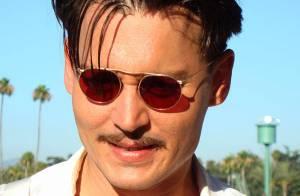 Johnny Depp s'invite au Pays des Merveilles de Tim Burton !