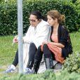 Exclu : La maman de Gia Allemand et sa soeur attendant devant l'hôpital de la Nouvelle-Orléans, le 14 août 2013.