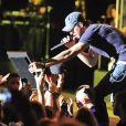 Enrique Iglesias en concert lors du festival Starlite à Marbella, le 17 août 2013.