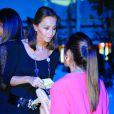 Isabel Preysler et sa fille Tamara Falco au concert d'Enrique Iglesias au festival Starlite à Marbella, le 17 août 2013.