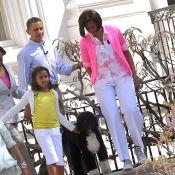 Barack et Michelle Obama : Un nouveau venu dans la famille présidentielle...