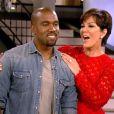 """Kanye West, invité spécial de la dernière émission de sa """"belle-mère"""" Kris Jenner, diffusée ce vendredi 23 août."""