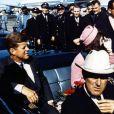 John F. Kennedy et sa femme Jackie le 22 novembre 1963.